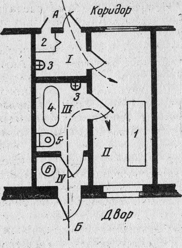 Бокс системы Мельцера (схема)