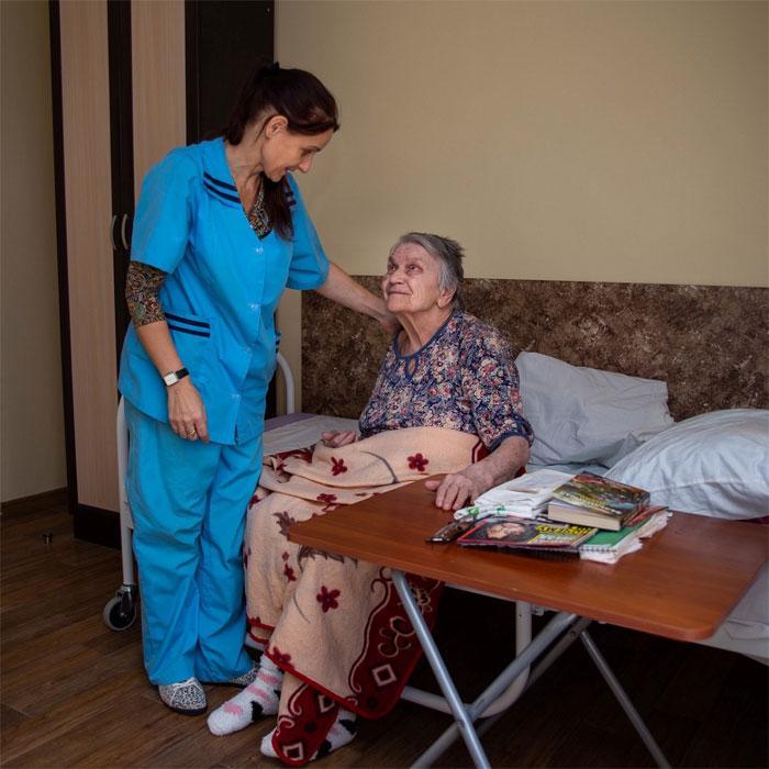 Психоневрологический интернат для пожилых